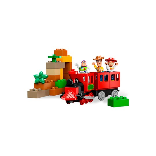 Lego The big trainhunt Multi