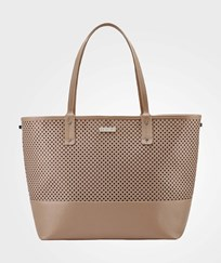 Skip Hop Duet 2-In-One Diaper Tote Bag Taupe Beige