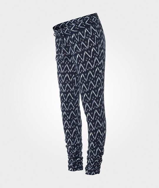 Noppies Pants Utb Loose Jett Aop Dark Blue