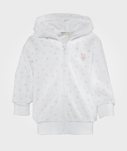United Colors of Benetton Hooded Sweatshirt Zip Through White