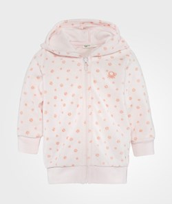 United Colors of Benetton Hooded Sweatshirt Zip Pink