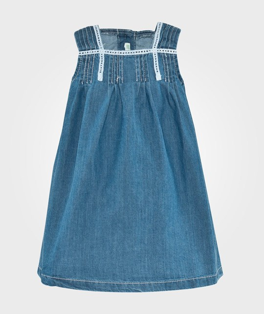 United Colors of Benetton Denim Dress Blue Blue