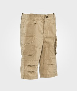 United Colors of Benetton Mid Length Combat Shorts With Side Pockets Beige