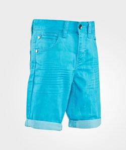 United Colors of Benetton Coloured Denim Five Pocket Shorts Bright Blue