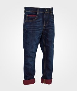 United Colors of Benetton Skinny Five Pocket Denim With Contrast Stitching Dark Wash