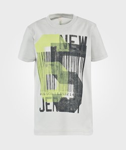 United Colors of Benetton New Jersey Print T-Shirt Grey