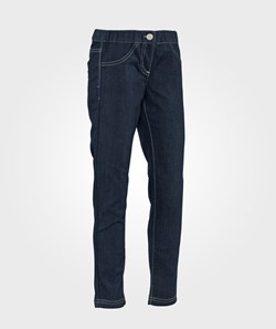 United Colors of Benetton Skinny Fit Coloured Jeggings With Elasticated Waistband Navy
