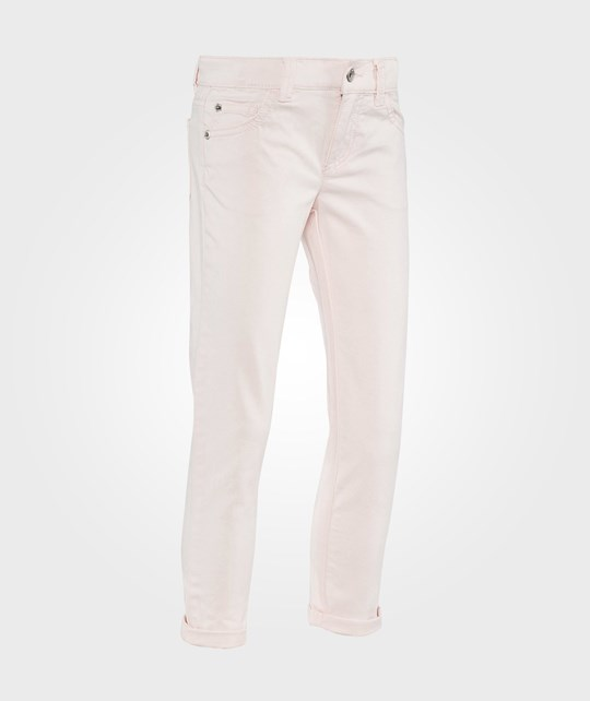 United Colors of Benetton Брюки Skinny With Star Detail Rosa розовый