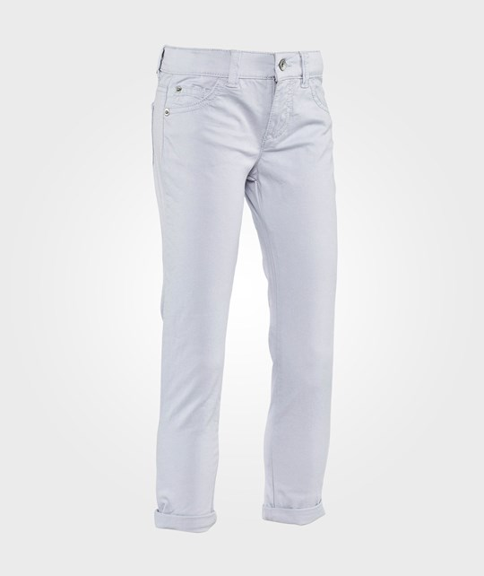 United Colors of Benetton Skinny Trousers With Star Detail Blue Blue