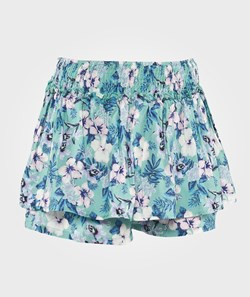 United Colors of Benetton Tropical Floral Print Skort Green