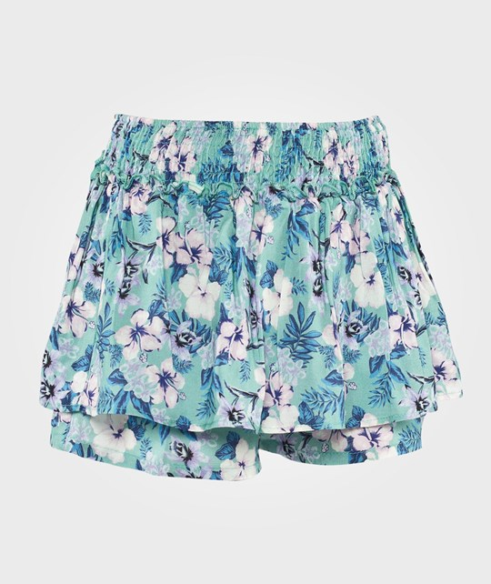 United Colors of Benetton Tropical Floral Print Skort Green Green