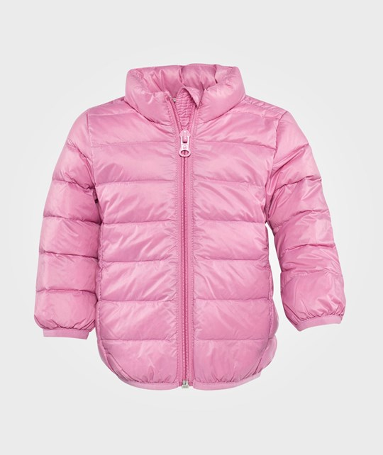 United Colors of Benetton Hooded Jacket, Zip Through Pink Pink