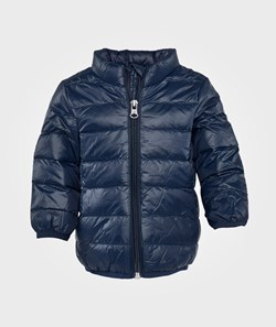 United Colors of Benetton Hooded Jacket, Zip Through Blue