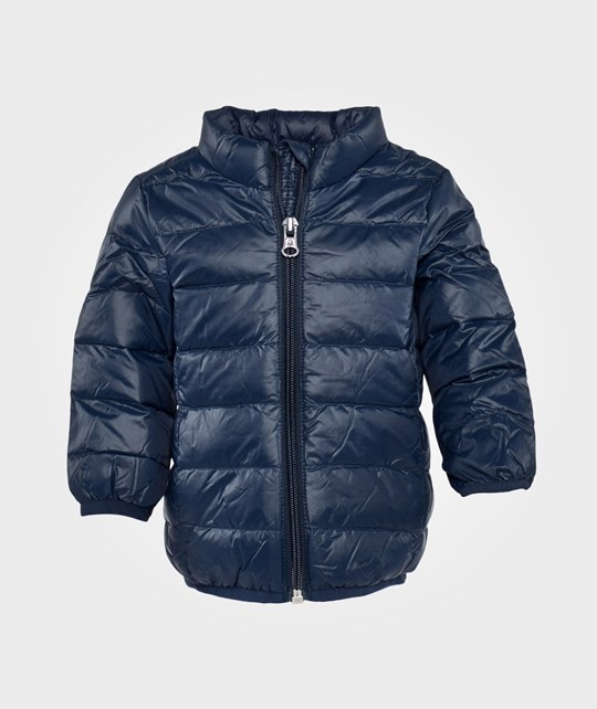United Colors of Benetton Hooded Jacket, Zip Through Blue Blue