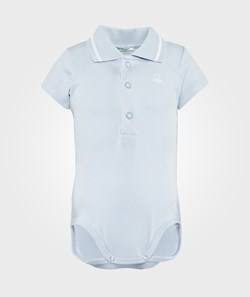 United Colors of Benetton Body Polo Light Blue