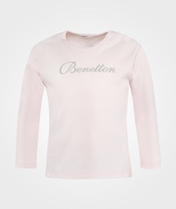 United Colors of Benetton T- Shirt Long Sleeve Pink