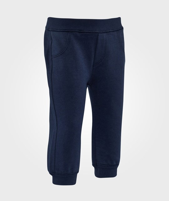 United Colors of Benetton Sweatpants Navy Blue Navy Blue