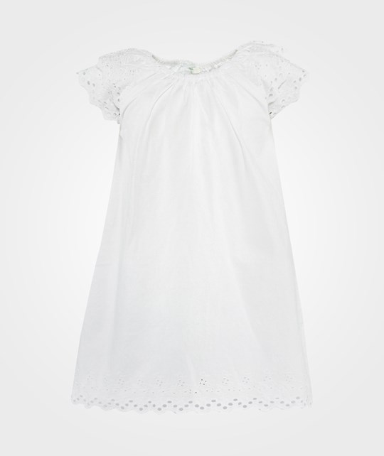 United Colors of Benetton Cotton Dress White White