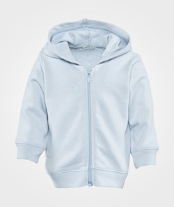 United Colors of Benetton Hooded Sweatshirt Zip Throu Light Blue