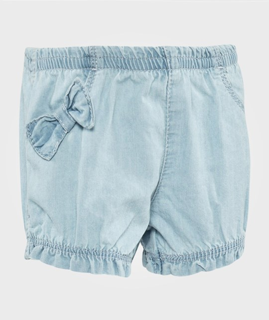 United Colors of Benetton Denim Shorts Light Blue Light Blue