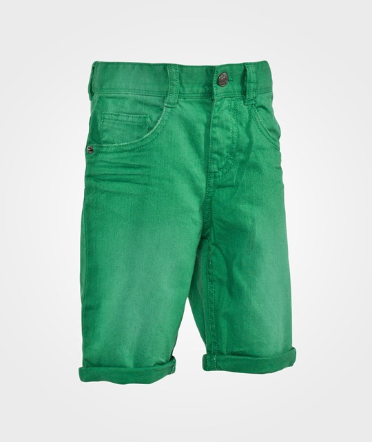 United Colors of Benetton Coloured Denim Five Pocket Shorts Bright Green Bright Green