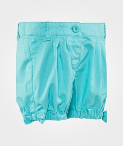 United Colors of Benetton Cropped Shorts With Bow Details Turquoise