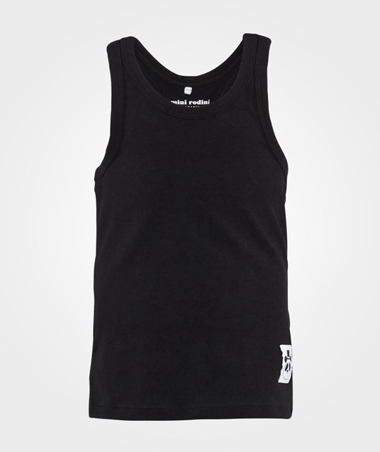 Mini Rodini Basic Racerback Tank Black
