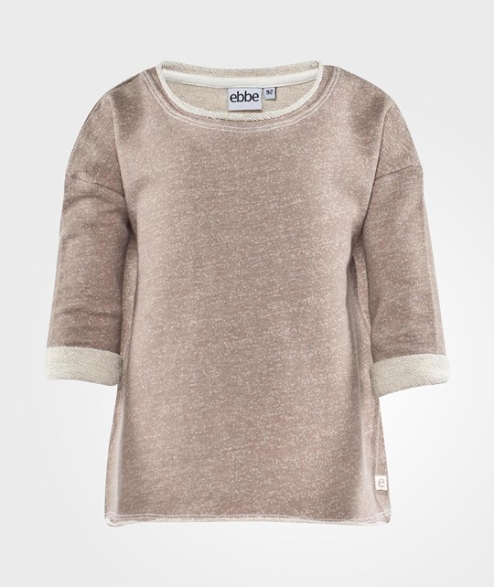 ebbe Kids Stacy Sweat Top  Taupe melange