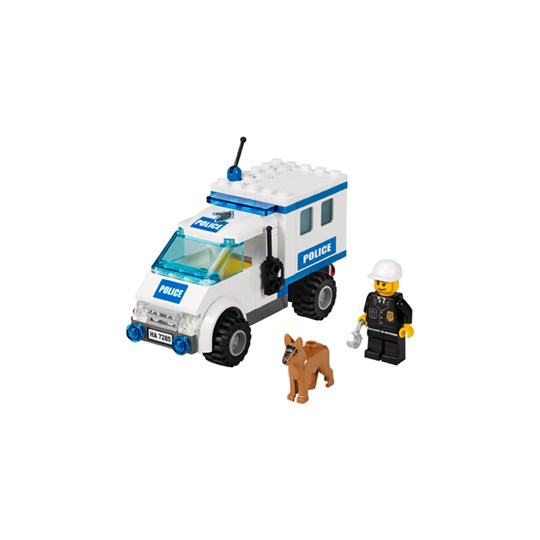 Lego The Police Dog Unit Multi