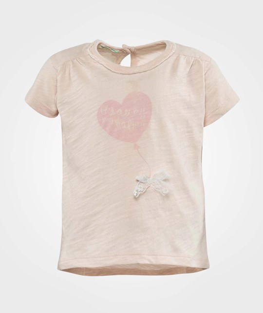 United Colors of Benetton T-Shirt Short Sleeve Pink Pink