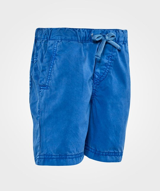 United Colors of Benetton Casual Shorts With Side Pockets Blue Blue