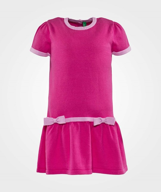 United Colors of Benetton Knit Dress Rosa Pink
