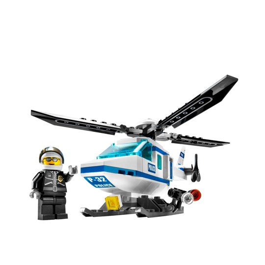 Lego Police Helicopter Multi