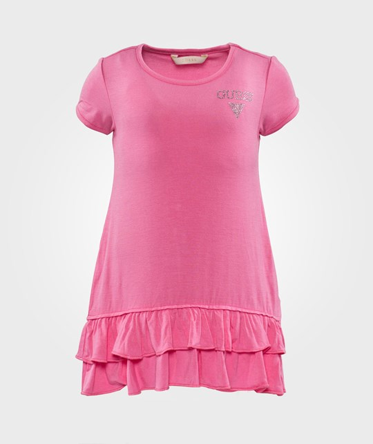 Guess SS Dress Siren Fuchsia Rosa