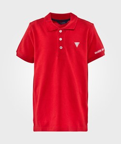 Guess SS Polo Red Hot