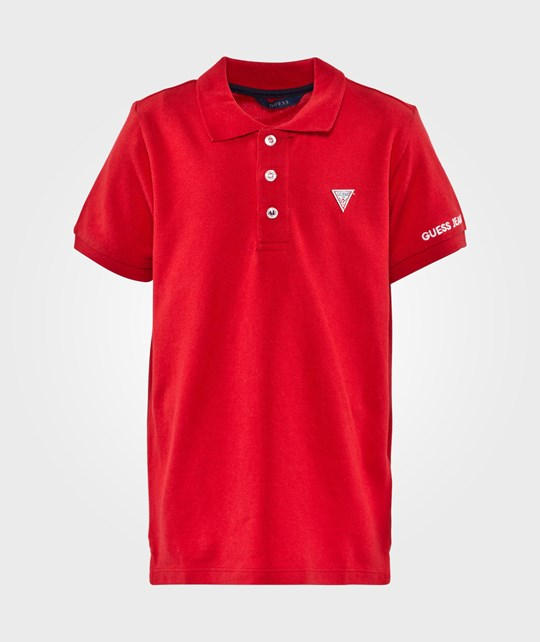 Guess SS Polo Red Hot Red