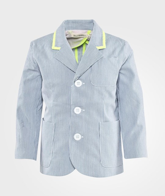 Billybandit Jacket Pale Blue White Pale Blue White