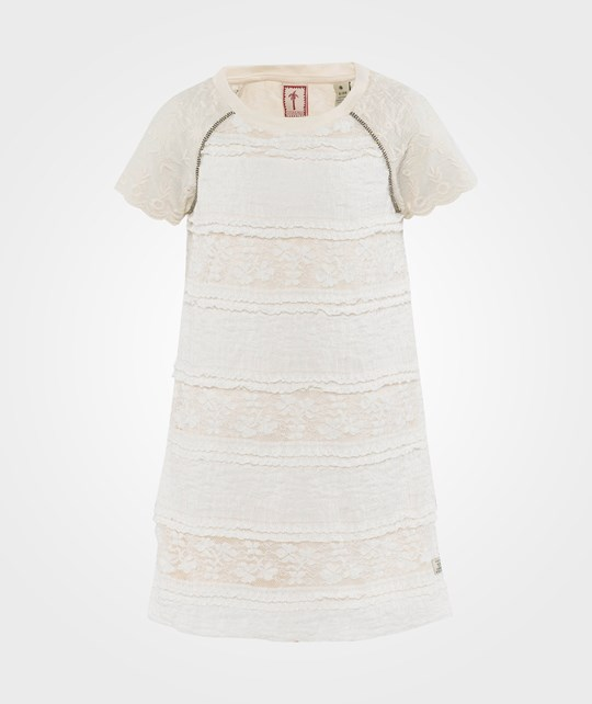 Scotch R'belle Jersey Dress With Embroidered Sleeves Dessin