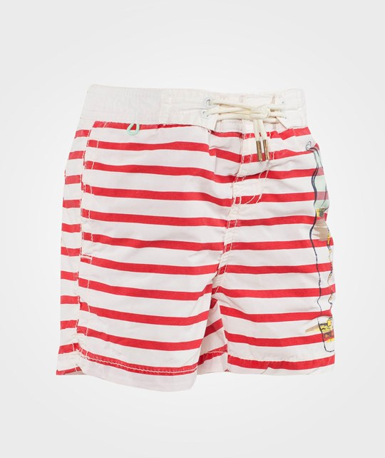 Scotch Shrunk Medium Length Swim Shorts In Stripes & Allovers Dessin Dessin