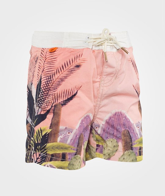 Scotch Shrunk Swim Shorts With Photo Prints Dessin Dessin