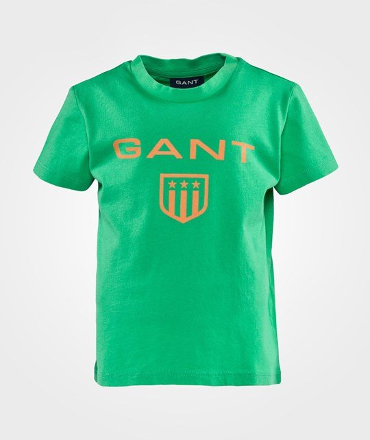 Gant C.W. Boy Gant Shield Ss T-shirt Spring Green