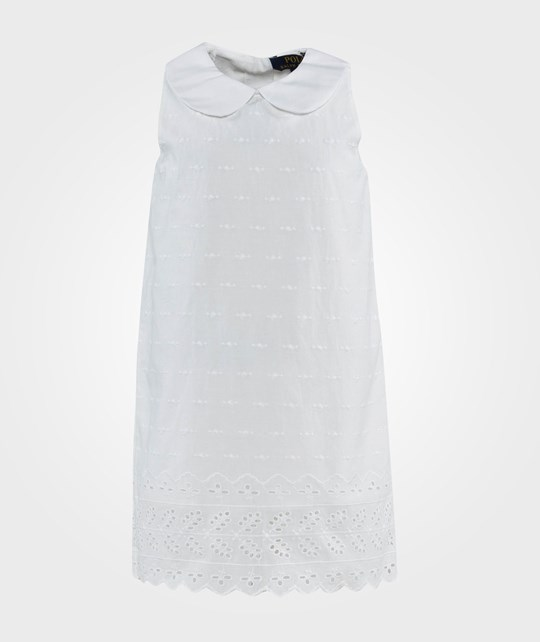 Ralph Lauren Shift Dress White White