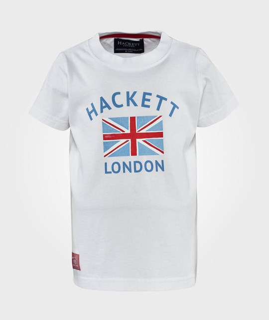 Hackett Ujk Tee B Off White White