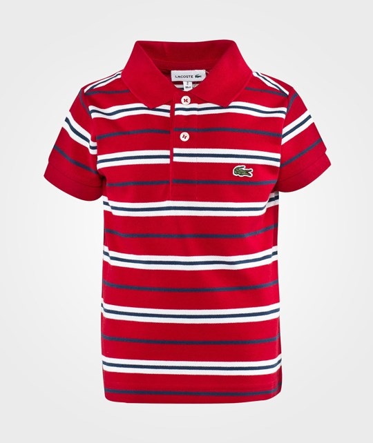 Lacoste Polo Shirt Tokyo Blanc Red