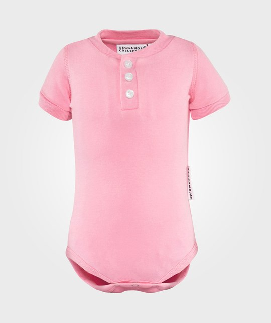 Geggamoja Shortsleeved Body  Pink
