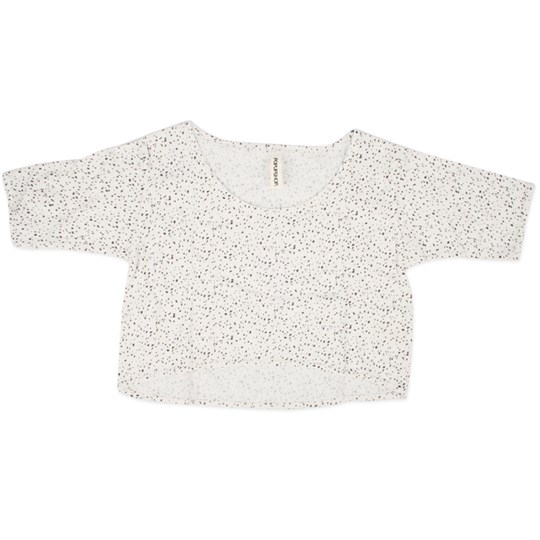 Popupshop Loose Long Sleeve Dots White