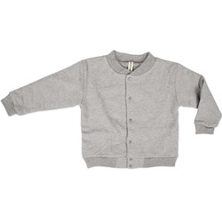 Popupshop Baseball Jacket Grey Melange