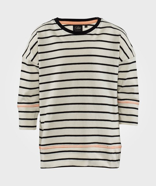 Petit by Sofie Schnoor T-shirt  Off White/ Black