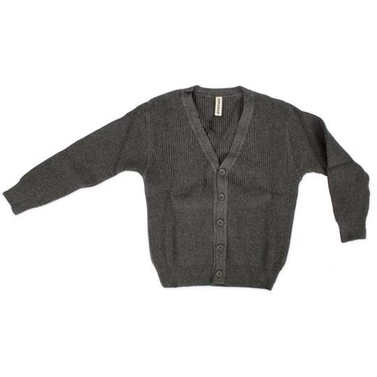 Popupshop Knitted Cardigan Grey Black
