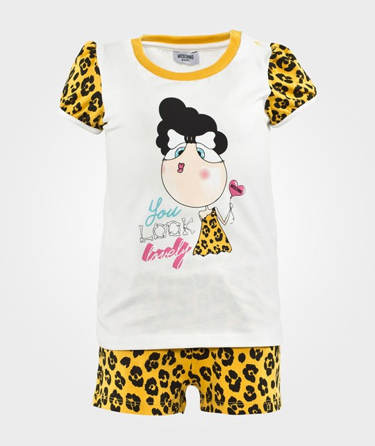 Moschino Baby T-Shirt+Shorts  Leo Yellow